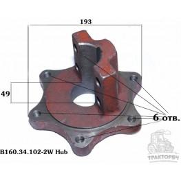 Зажим нижний Jinma-184-254 B160.34.102-2/W