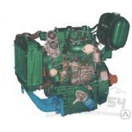 Дизель двухцилиндровый TY290 18 л.с. для минитрактора