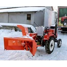 Снегоочиститель задненавесной для минитракторов (работает при движении трактора задним ходом)