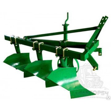 Плуг навесной трехкорпусный (3-х лемешной) 1L-320 на минитрактор (Китай)